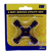 SWL - 4 WAY SERVICE UTILITY KEY