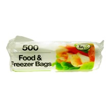 TIDYZ - FOOD & FREEZER BAGS - 500 PACK