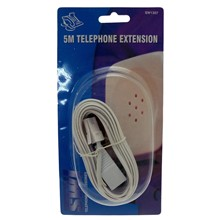 5M TEL EXTENSION LEAD
