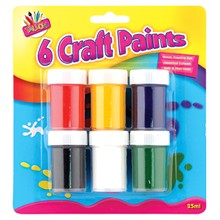 6 CRAFT PAINT SET