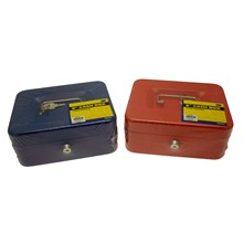 "SWL - 8"" CASH BOX 2 KEYS INCLUDED"