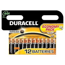 ECONOMY PACK 12 DURACELL AAA
