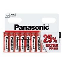 PANASONIC AA - 8+2 PACK FREE