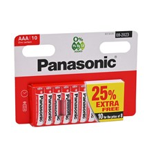PANASONIC - AAA - 8+2 FREE PACK