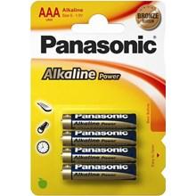 PANASONIC ALKALINE POWER - AAA LR03 - 4 PACK