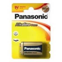 PANASONIC ALKALINE POWER - 9V - SINGLE