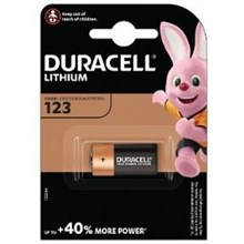 DURACELL - CR123 (DL123) LITHIUM BATTERY