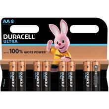 DURACELL ULTRA - AA BATTERY - 8 PACK