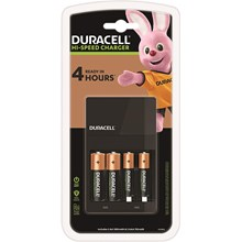DURACELL - HI-SPEED CHARGER 2 X AA + 2 X AAA
