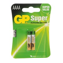 GP - AAAA SUPER ALKALINE BATTERY - 2 PACK