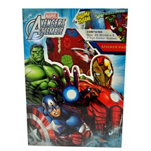 AVENGERS ASSEMBLE STICKER PAD