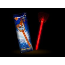 SUPERMAN GLOW WAND WITH TOPPER