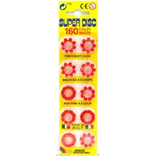 SUPER DISC - 8 SHOT CAP RINGS - 160 SHOTS