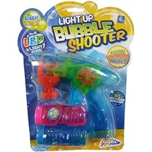 LED LIGHT UP BUBBLE SHOOTER