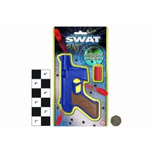 "AUTO LOAD DISC GUN CARDED  "" SWAT """