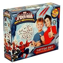 MARVEL SPIDER MAN TATTOO SET BOXED