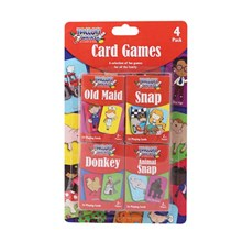TALLON GAMES - CHILDREN'S SNAP CARDS - 4 PACK