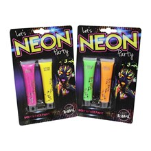 NEON PARTY 2PK NEON BODY & FACE PAINT
