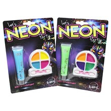 NEON PARTY NEON BODY & FACE PAINT SET