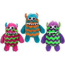 "9"" PLUSH WORRY MONSTER 3AST"