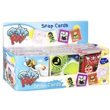 CREATIVE PLAY SNAP CARDS IN TIN 4 ASST