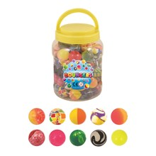 BOUNCERS JET BALL IN A TUB 3.5CM