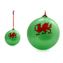 INFLATABLE BALL WALES WITH KEYCHAIN