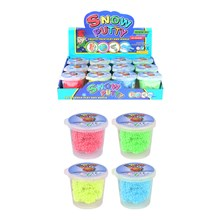 SNOW PUTTY 4 ASSORTED