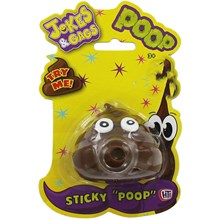 JOKES & GAGS SUPER STICKY SQUISHY POOP
