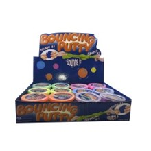 BOUNCING PUTTY 6 ASSORTED