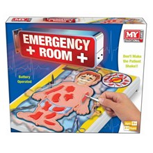TRADITIONAL GAMES - EMERGENCY ROOM BOARD GAME