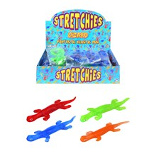 LIZARD STICKY STRETCHIES - 4 ASSORTED