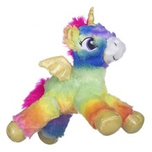 13 INCH RAINBOW UNICORN PLUSH