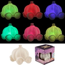 PRINCESS CARRIAGE LED COLOUR CHANGING LAMP