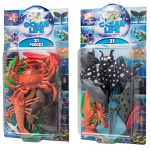 OCEAN LIFE SET - 21 PACK