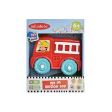 INFUNBEBE - MY 1ST MUSICAL TOY - FIRE ENGINE
