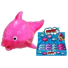 STICKY BEADY SQUEEZERS - DOLPHIN - 4 ASSORTED