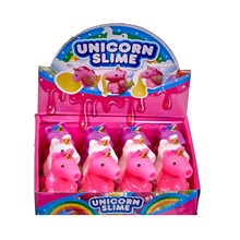 UNICORN SUCK AND SQUEEZE POO SLIME - 3 ASSORTED