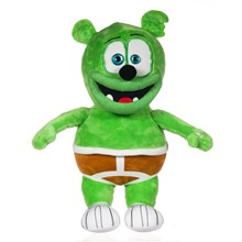 GUMMY BEAR PLUSH WITH SOUND - 27CM
