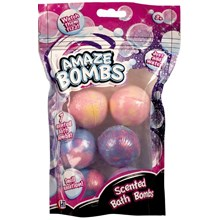 AMAZE BOMBS - 7PC 60G SCENTED BATH BOMBS