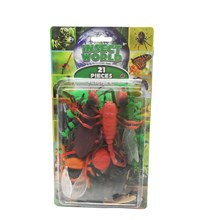 INSECT WORLD SET - 21 PIECES