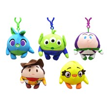 TOY STORY 4 - SQUEEZSTER BAG CLIP - 6ASST