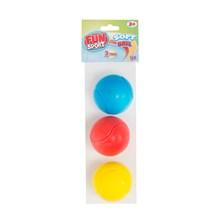 FUN SPORT - 3 PACK SOFT BALLS