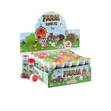 BUBBLE TUBS - FARM ANIMALS - 36 PACK