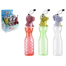 THE BOTTLE BUNCH 450ML WATER BOTTLE - DINO -3ASST