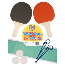 SUMMER FUN - TABLE TENNIS SET WITH NET