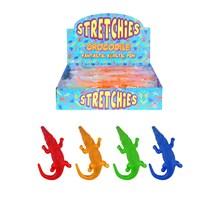 STRECHIES - STRETCHY STICKY CROCODILE - 4 ASSORTED