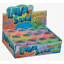 NEON LAVA SAND - 140G - 6ASST