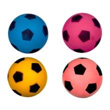 18CM SOFT FOOTBALL - 4 ASST