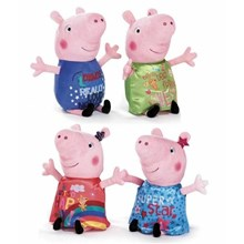 PEPPA PIG PLUSH TOY - 4ASST - 12""